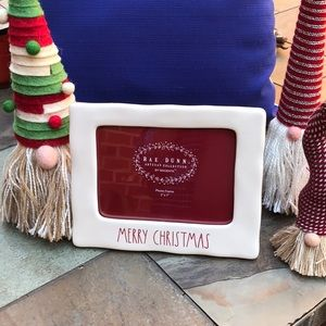 """Rae Dunn """"Merry Christmas"""" 5X7 picture frame NWT"""